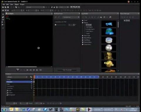Corel MotionStudio 3D paso a paso