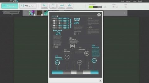 Crea tus propios diseños infográficos