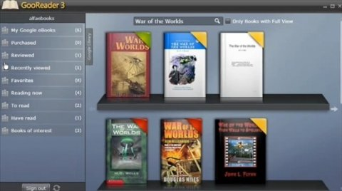 Crea una biblioteca personalizada desde Google Books