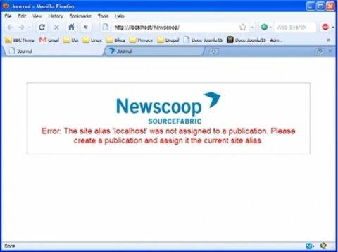 Crea una publicación con Newscoop