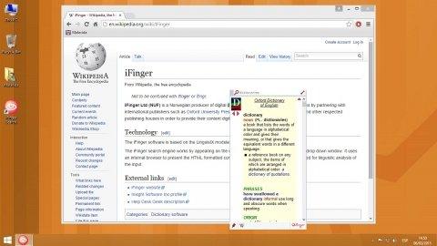 Mit Oxford Dictionary of English beim Browsen Englisch lernen