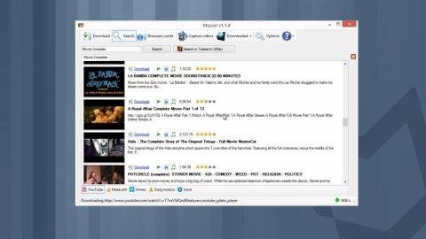 Musik und Videos in hoher Auflösung mit Movier herunterladen