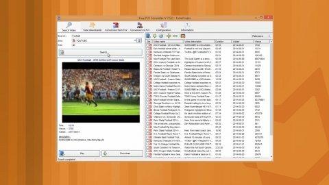 Videos von YouTube mit Free FLV Converter in unterschiedlichen Formaten herunterladen