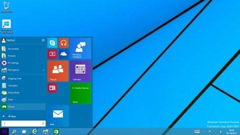 Windows 10, die ersten Einblicke