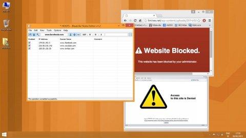 Zugang auf beliebige Webseiten mit BlueLife Hosts Editor blockieren