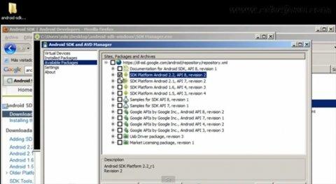 Desarrolla aplicaciones para el SO de Google