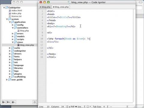 Desarrolla aplicaciones web en PHP