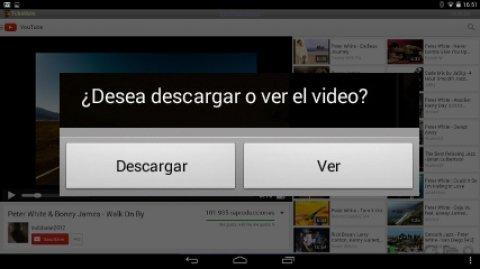 Descargar vídeos y música de YouTube con TubeMate