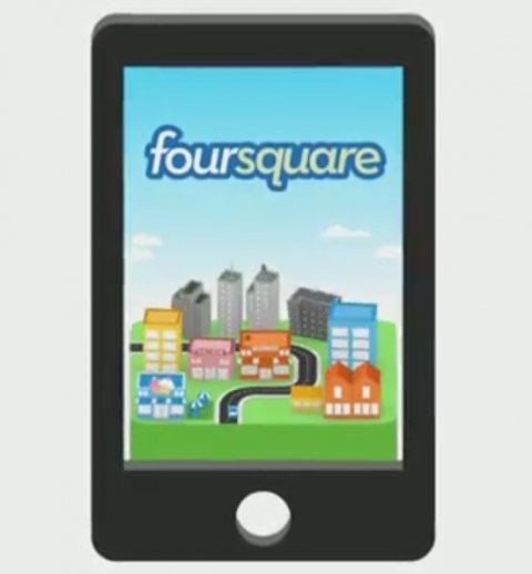 Descubre nuevos lugares con Foursquare