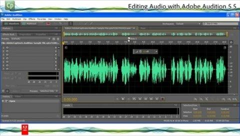 El editor y secuenciador de audio de Adobe