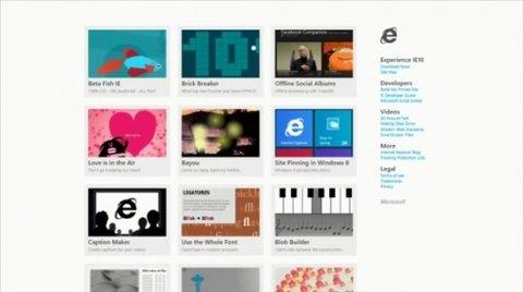 El nuevo Internet Explorer 10