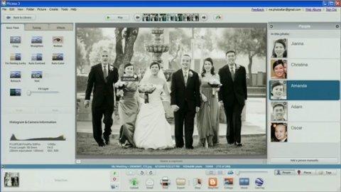 El organizador y catalogador de imágenes de Google