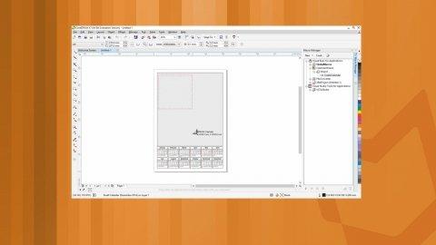 Create a photo calendar with CorelDraw