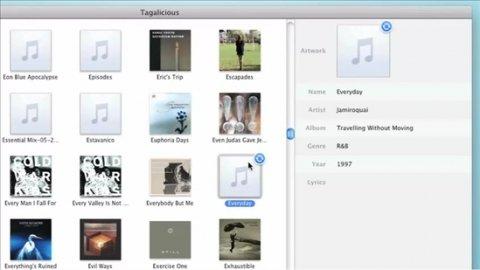 Etiqueta tu colección de música