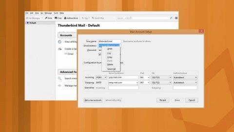 Comment configurer un compte de messagerie Thunderbird
