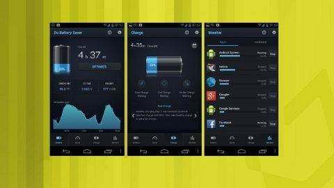 Économisez de la batterie sur Android avec DU Battery Saver