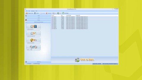 Passer un CD audio à Mp3 sur Format Factory