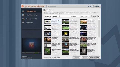 Télécharger et convertir les vidéos sur YouTube Downloader Suite