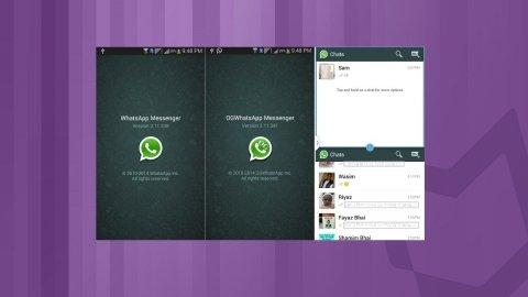 Utilise deux numéros de WhatsApp sur le même mobile