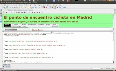 Gran editor HTML para Linux
