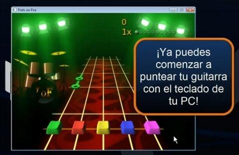 Cómo jugar a Guitar Hero en el ordenador