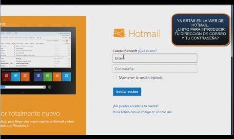Cómo iniciar tu sesión de usuario Hotmail