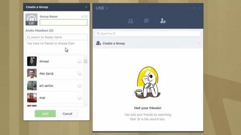 Configurare e usare Line su Windows