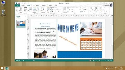Crea flyer e brochure pieghevoli con Microsoft Publisher
