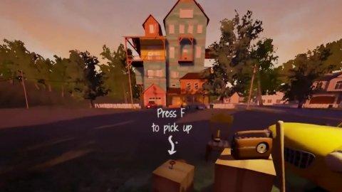 Gameplay Hello Neighbor: あなたの隣の家の人の秘密を探りましょう