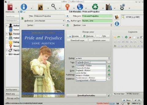 La aplicación definitiva para el manejo de ebooks