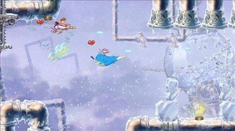 La nueva aventura de Rayman, en vídeo