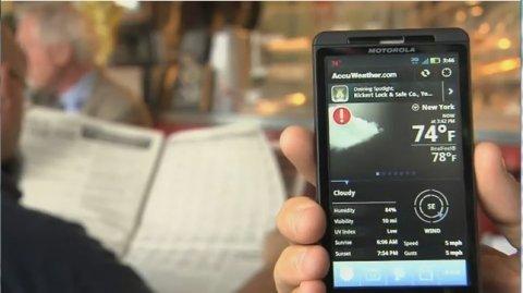 La predicción meteorológica más detallada en tu móvil