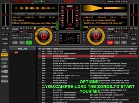 Mezclar canciones con la función AutoMix