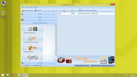 Pasar CD de audio a MP3 con FormatFactory
