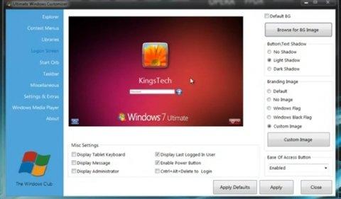 Realiza toda clase de ajustes en Windows 7