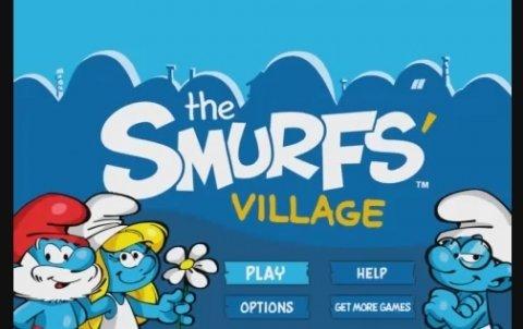 Reconstruye la aldea de los Pitufos