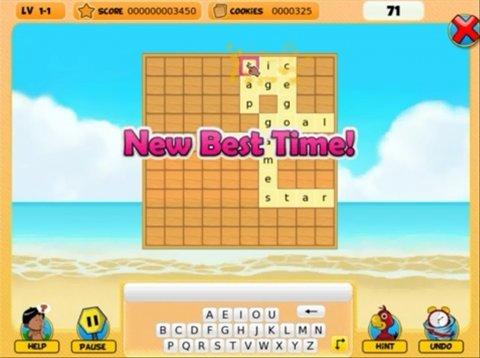 Resuelve tableros de palabras en NagiQ