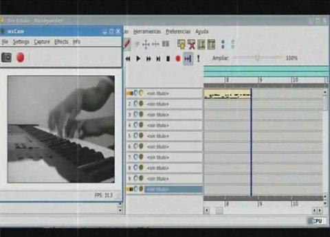 Secuenciador de audio con funciones de notación