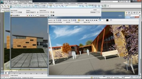 Sincroniza Autodesk 3ds Max con Revit Architecture