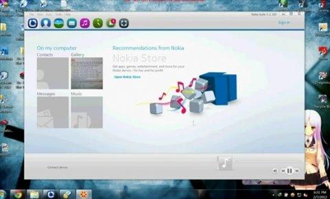 Software de gestión de teléfonos Nokia