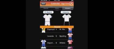 Toda la información de La Liga en iOS