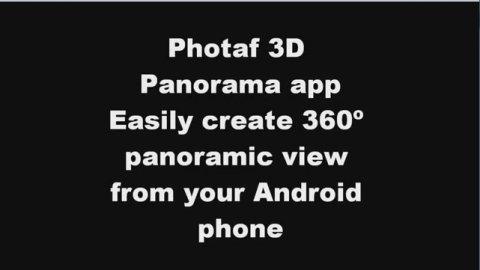 Toma fotografías panorámicas con tu teléfono