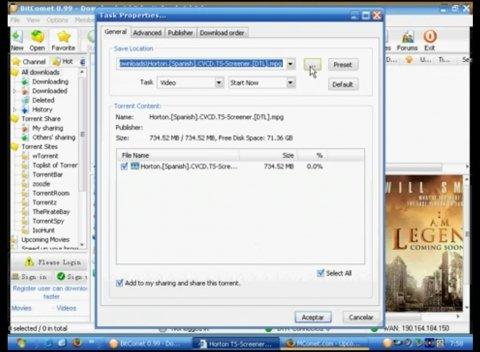 Un práctico cliente BitTorrent para tus descargas