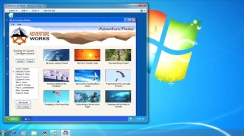 Usa tu software de Windows XP en W7