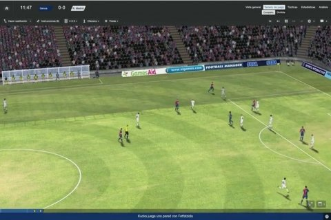 Video ingame Football Manager 2014