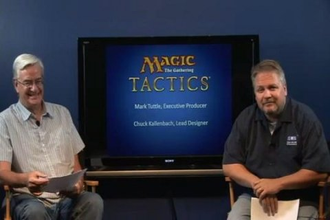 Webcast Magic: The Gathering - Tactics